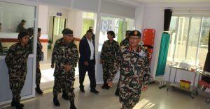 पोखरामा सैनिक अस्पताल सञ्चालनमा
