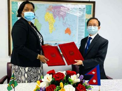 Nepal establishes diplomatic ties with Dominica