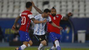 अर्जेन्टिना र चिलीको खेल बराबरीमारोकियो