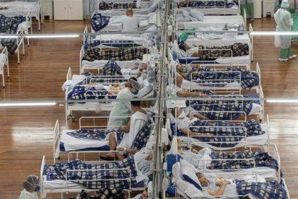 एकैदिनमा ब्राजिलमा थपिए १ लाख बढी कोरोना संक्रमित
