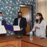 पाँचखाल नगरपालिका र नेपाल इन्फ्रास्ट्रक्चर बैंक लिमिटेड बीच शहरी पूर्वाधार विकाशका लागि सहकार्य गर्न समझदारी पत्रमा हस्ताक्षर