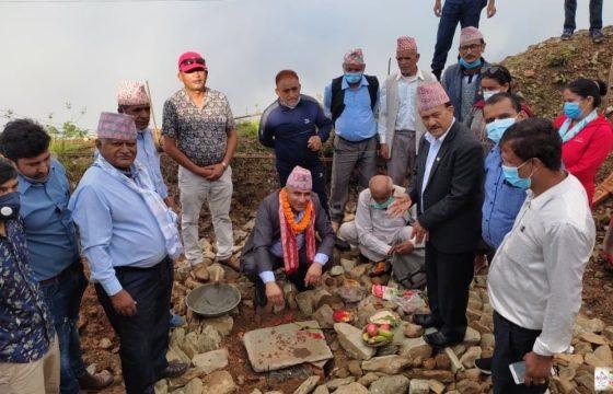 सराङ्गकोटमा धार्मिक पर्यटन गुरुयोजना निर्माण अन्तिम चरणमा