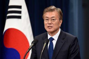 दक्षिण कोरियाली राष्ट्रपति मूनप्रति जनविश्वास बढ्दो
