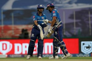 Mumbai Indians (MI) beat Sunrisers Hyderabad (SRH)