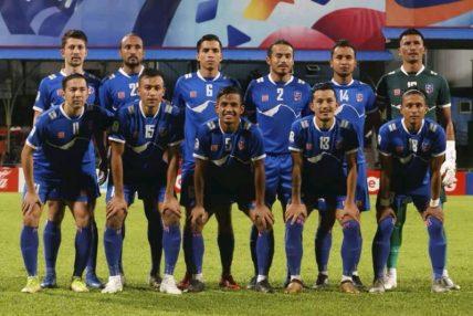 साफ च्याम्पियनसिप फुटबलमा उपविजेता नेपाली राष्ट्रिय फुटबल टोली आज स्वदेश फर्कदै